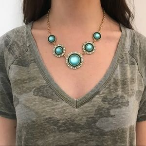 Jewelry - Turquoise statement necklace💙
